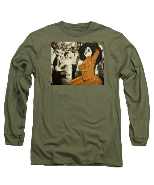 Renee Segregationist Long Sleeve T-Shirt by Deedee Williams