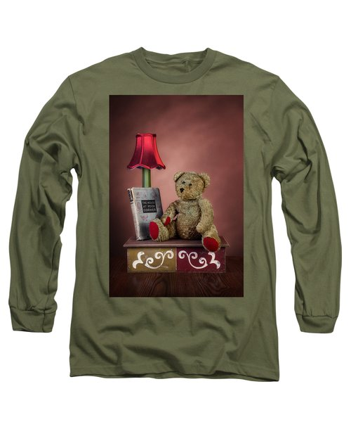 Long Sleeve T-Shirt featuring the photograph Required Reading by Tom Mc Nemar