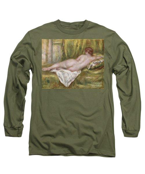 Rest After The Bath Long Sleeve T-Shirt