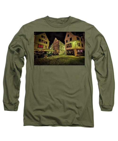 Long Sleeve T-Shirt featuring the photograph Restaurante Roseneck by David Morefield