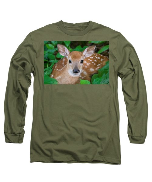 Resting Fawn Long Sleeve T-Shirt