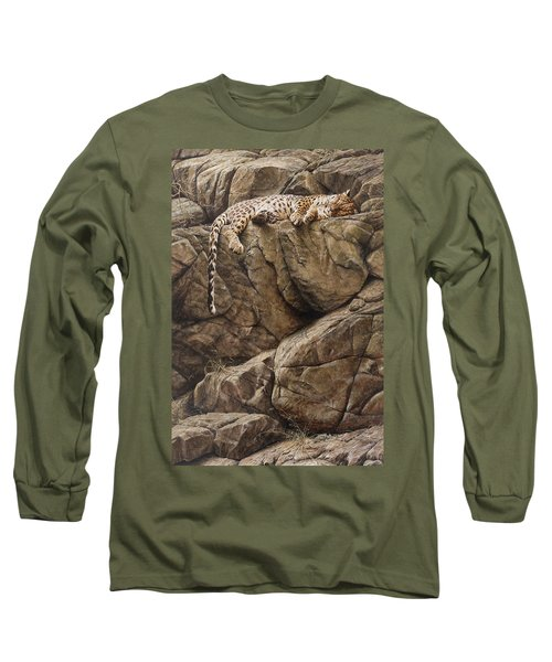 Resting In Comfort Long Sleeve T-Shirt