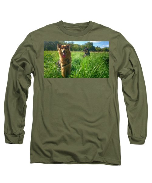 Resting Long Sleeve T-Shirt by Isabella F Abbie Shores FRSA