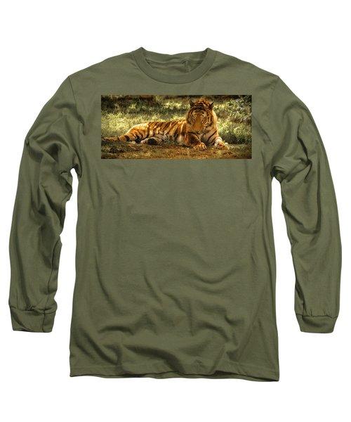 Resting Tiger Long Sleeve T-Shirt