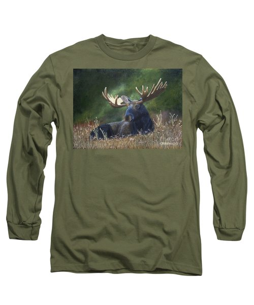 Resting Long Sleeve T-Shirt