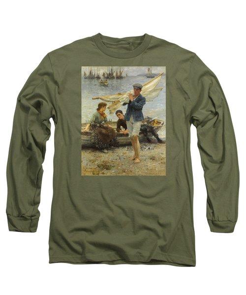 Return From Fishing Long Sleeve T-Shirt