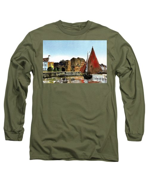 Returning Home To The Cladagh Long Sleeve T-Shirt