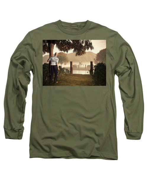 Returning To The Bridge That Burned Long Sleeve T-Shirt
