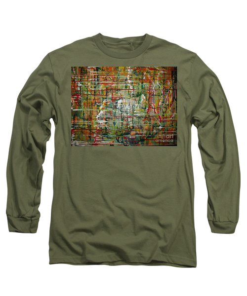 Long Sleeve T-Shirt featuring the painting Revelation by Jacqueline Athmann