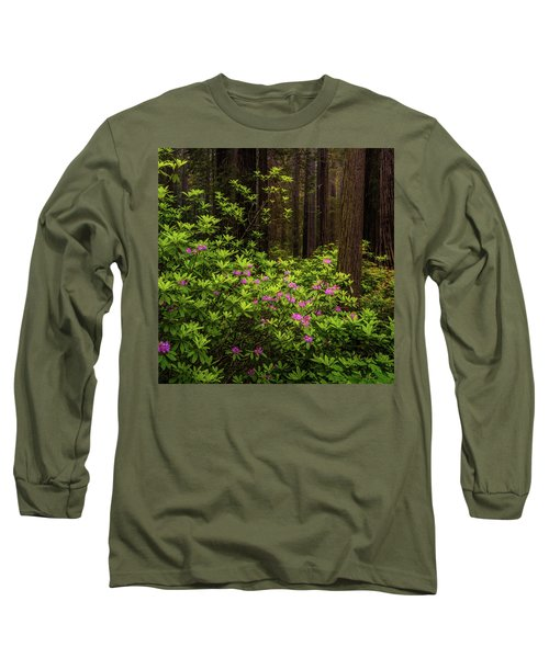 Rhododendrons Long Sleeve T-Shirt