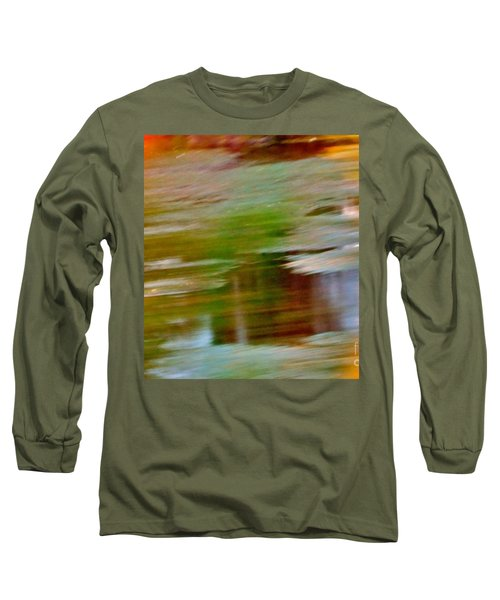 Rice Lake Long Sleeve T-Shirt by Patricia Schneider Mitchell