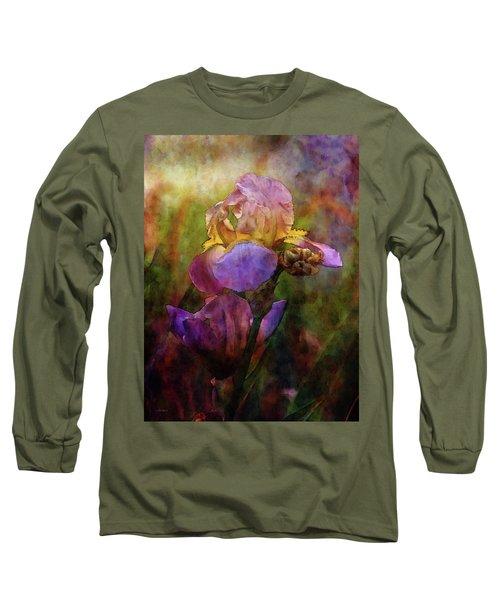 Rich Purple Irises 0056 Idp_22 Long Sleeve T-Shirt