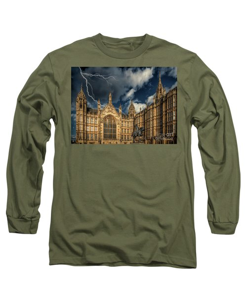 Long Sleeve T-Shirt featuring the photograph Richard The Lionheart by Adrian Evans