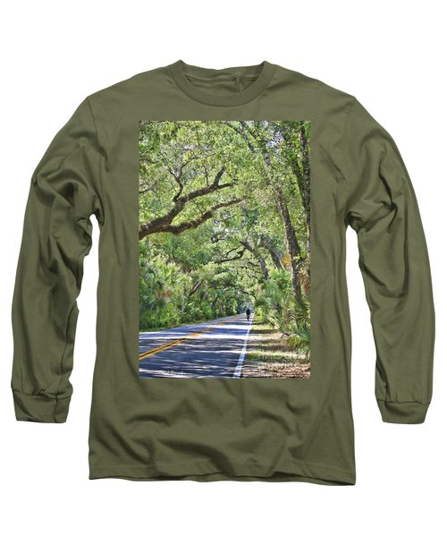 Riding The Ormond Loop Long Sleeve T-Shirt