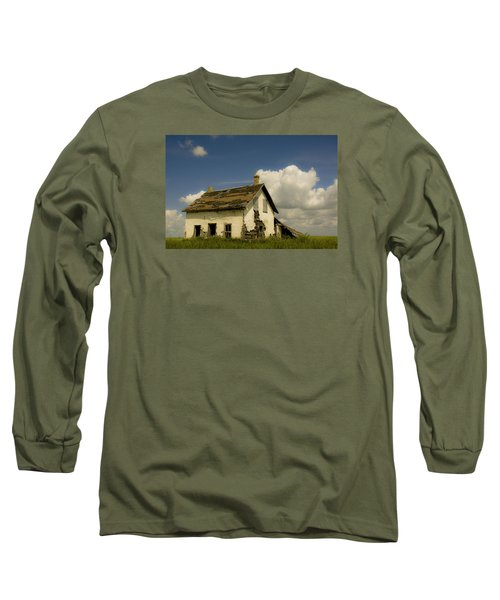 Riel Rebellion Period Farm House Long Sleeve T-Shirt