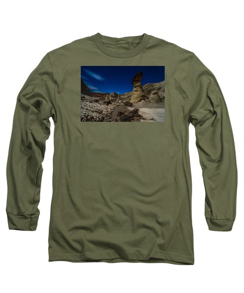 Rim Rock Toadstools Grand Staircase National Monument  Long Sleeve T-Shirt