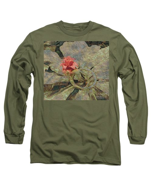 Ring Around The Posy Long Sleeve T-Shirt by Kathie Chicoine