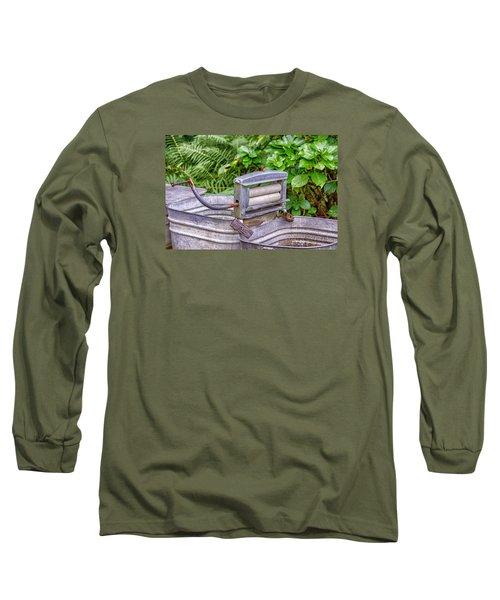 Ringer Wsher Long Sleeve T-Shirt