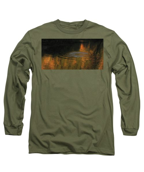 Long Sleeve T-Shirt featuring the photograph Rings And Reflections by Suzy Piatt