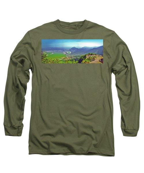 Rio De Janeiro Brazil Panorama Long Sleeve T-Shirt