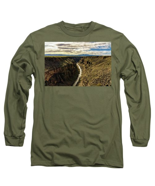 Rio Grande Gorge  Long Sleeve T-Shirt