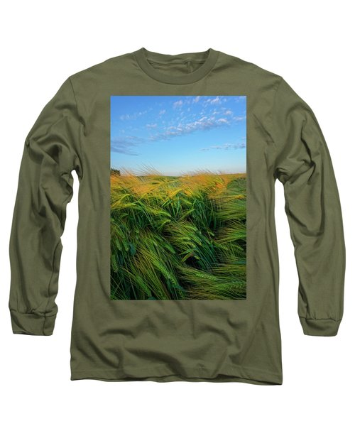 Ripening Barley Long Sleeve T-Shirt