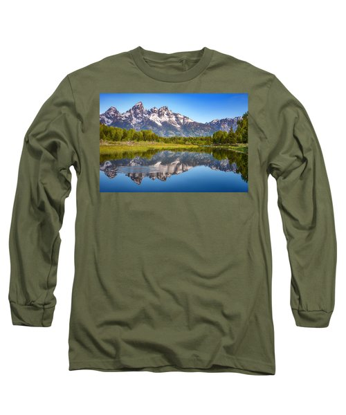 Ripples In The Tetons Long Sleeve T-Shirt