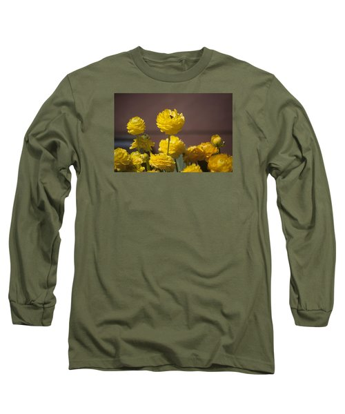 Rising Above The Crowd Long Sleeve T-Shirt by Morris  McClung