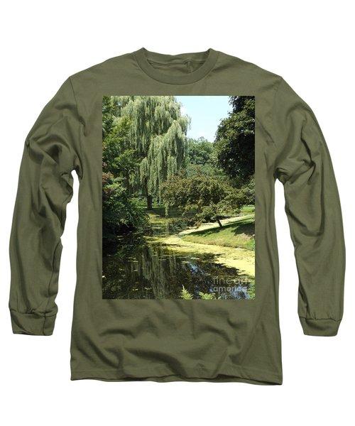 River Flows Through Long Sleeve T-Shirt