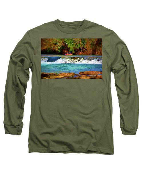 River Good Times 121217-1 Long Sleeve T-Shirt