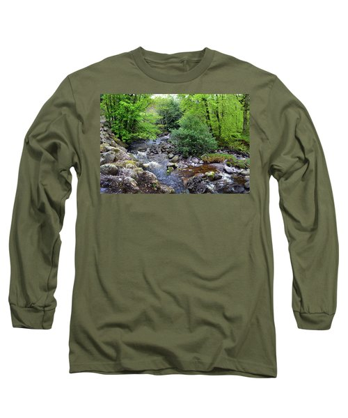 River Mahon Waterford Ireland..jpg Long Sleeve T-Shirt by Terence Davis
