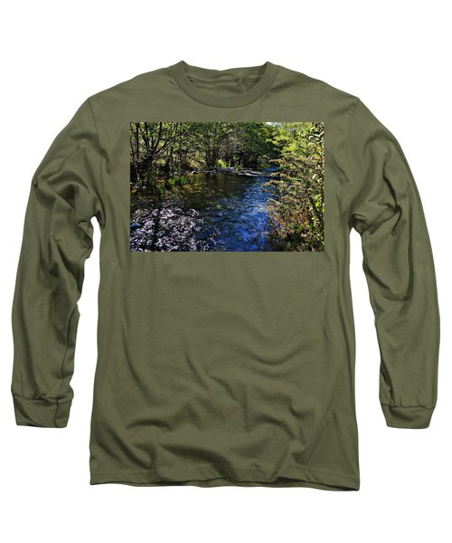 River Of Peace Long Sleeve T-Shirt by Glenn McCarthy