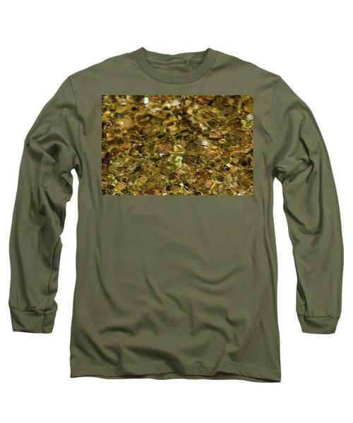 River Pebbles Long Sleeve T-Shirt