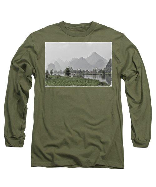 River Rafting Long Sleeve T-Shirt