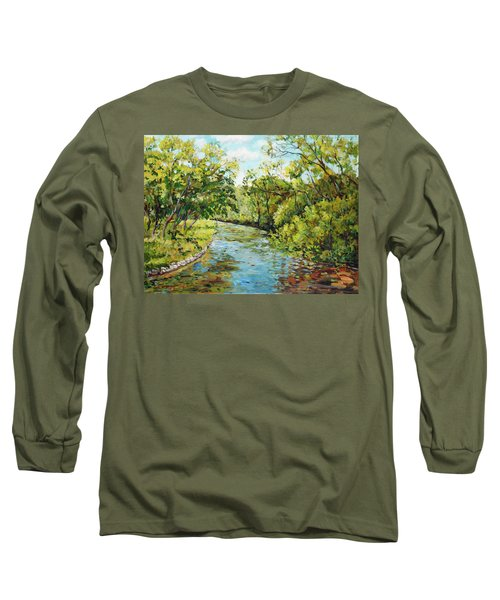 River Through The Forest Long Sleeve T-Shirt