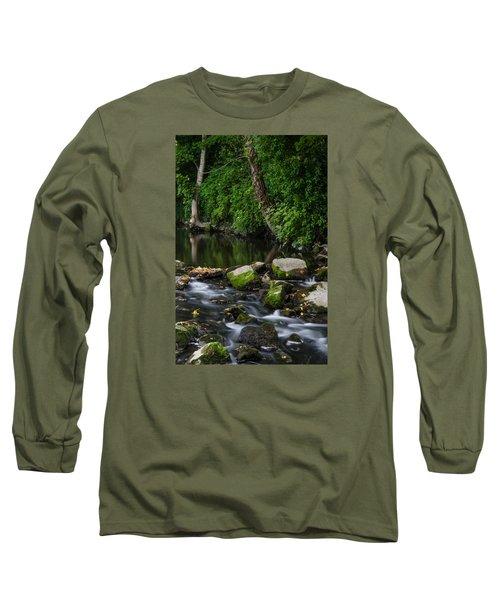 River Tolka Long Sleeve T-Shirt by Martina Fagan