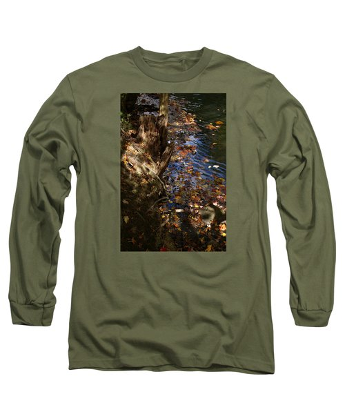 Riverbank View Long Sleeve T-Shirt by Margie Avellino