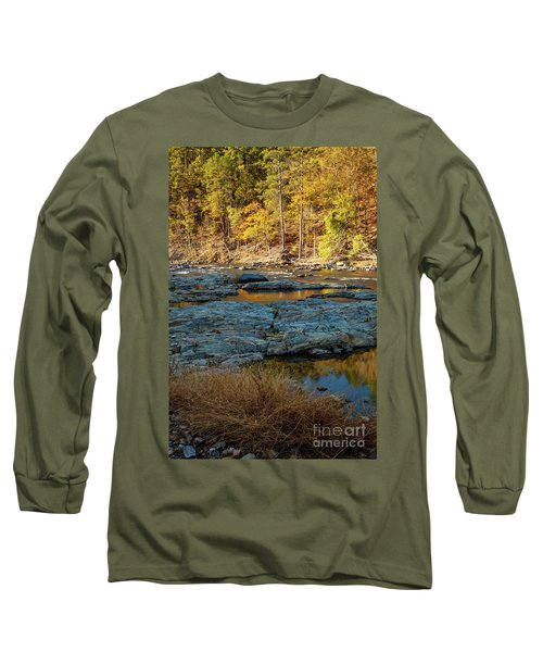 Long Sleeve T-Shirt featuring the photograph Riverside by Iris Greenwell