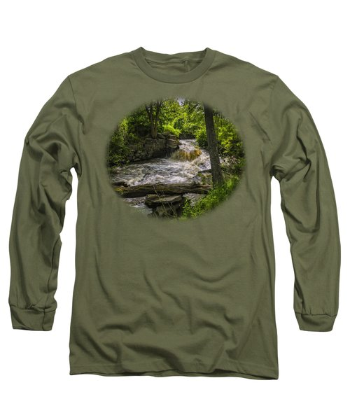 Long Sleeve T-Shirt featuring the photograph Riverside by Mark Myhaver