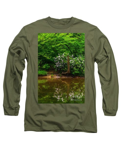 Riverside Rhododendron Long Sleeve T-Shirt