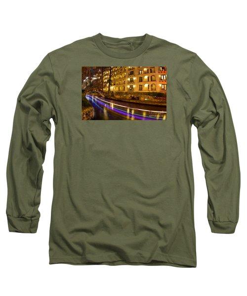 La Mansion Del Rio Riverwalk Christmas Long Sleeve T-Shirt