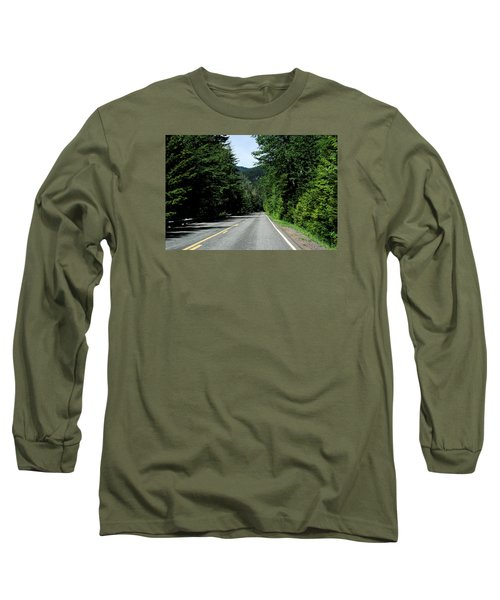 Road Among The Trees Long Sleeve T-Shirt