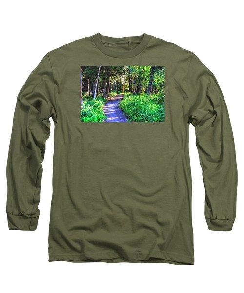 Road Less Traveled Long Sleeve T-Shirt