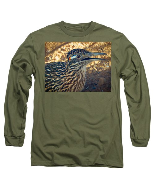 Roadrunner Portrait Long Sleeve T-Shirt
