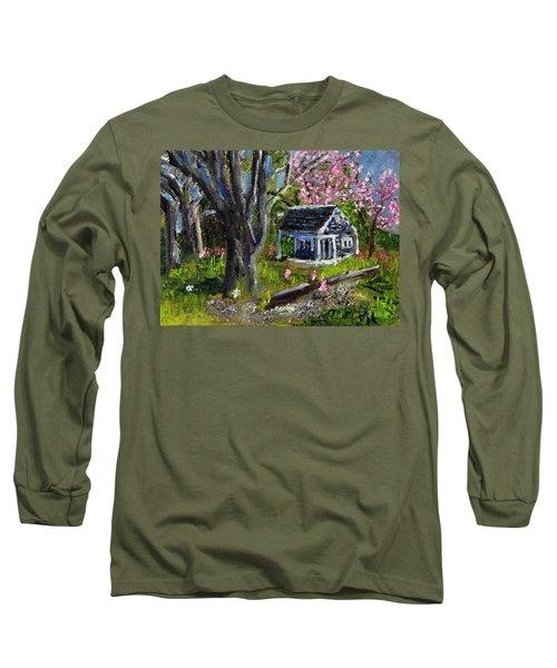 Roadside Vegetable Stand Off Season Long Sleeve T-Shirt