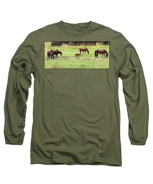 Roaming Freely Long Sleeve T-Shirt