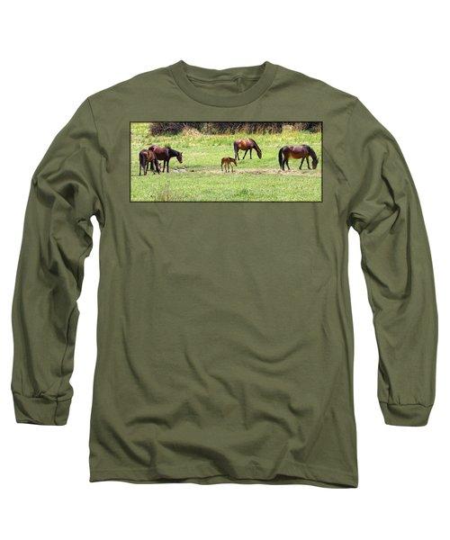Roaming Freely Long Sleeve T-Shirt