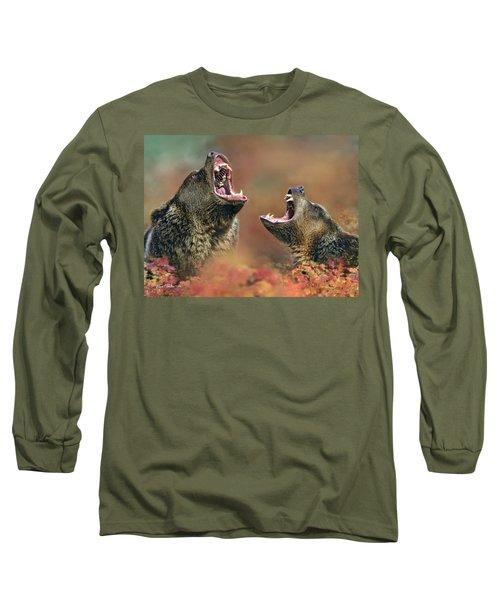Roaring Bears Long Sleeve T-Shirt