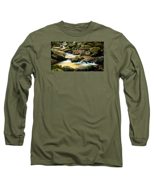 Long Sleeve T-Shirt featuring the photograph Roaring Fork River by Monte Stevens