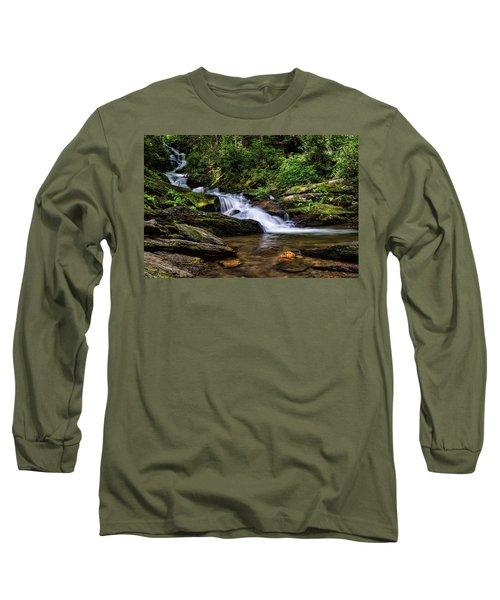 Roaring Fork Waterfall Long Sleeve T-Shirt